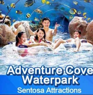 IMMED ISSUE: Universal Studio Sentosa Singapore USS 2. S.E.A Aquarium 海洋馆 ( SEA ) Sentosa Physical ticket e Tickets etickets  3. Adventure Cove Waterpark attraction eticket at sentosa water park