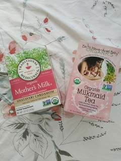 🚚 Organic Mother's Milk and Organic Milkmaid Tea