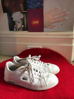 LACOSTE SNEAKERS SIZE 40.5