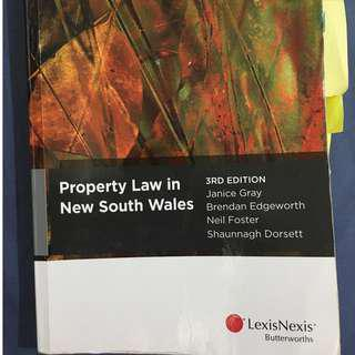 Property Law in NSW 3rd Edition (Textbook)