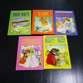 Set of 5 Classic Bedtime Story Books