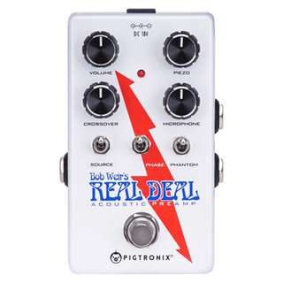 Pigtronix Bob Weir Real Deal Acoustic Preamp DI
