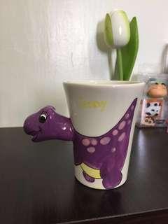 恐龍杯。迷你馬克杯。甜點杯。🦕