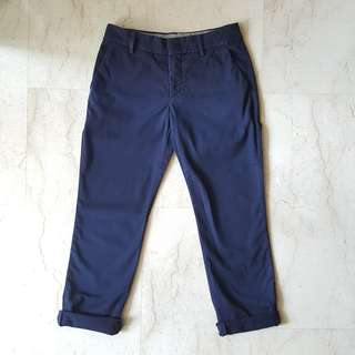 Uniqlo Navy Chinos Pants