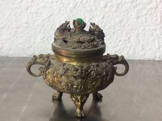 """""""Huat Loh"""" solid brass for prosperity"""
