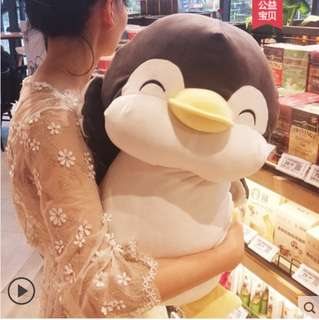 Cute roundy 55cm black color penguin instock !!