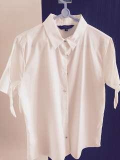 White R Shirt