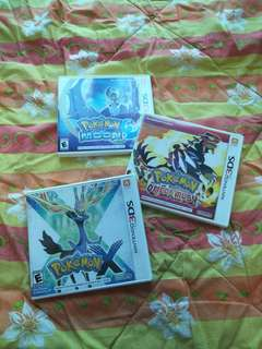 Pokemon Moon, Omega Ruby and X
