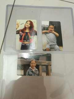 Twice jihyo photo card