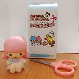 Little Twin Stars Lala 立體公仔造型剪刀組 Sanrio characters scissors