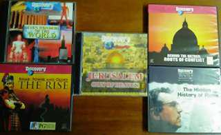 Discovery Channel History and Religious VCDs