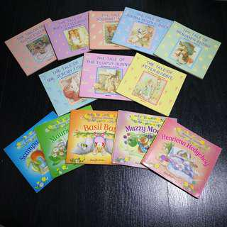 Lots of 13 Pre-School Story Books for age 5-8