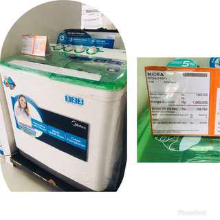 Kredit mesin cuci tanpa Dp