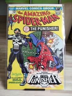 Amazing Spiderman #129 Reprint 1st appearance of the punisher