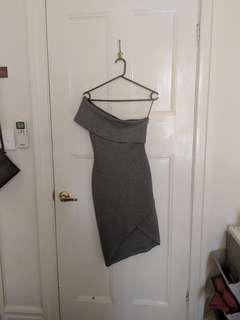 Sunday the Label Grey Dress