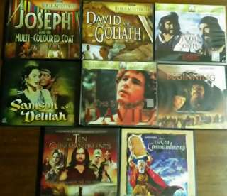 Old Testament Bible Stories VCDs