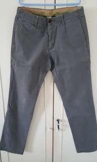 """Pre loved Gap trousers 32"""" grey"""
