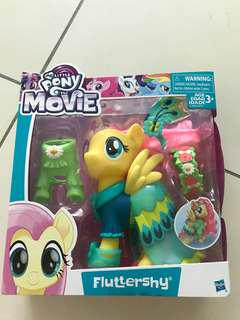 My little pony fluttershy snap on fashion