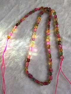 Tourmaline necklace 电器石 碧玺