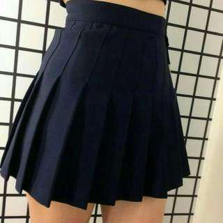 aa navy blue tennis skirt