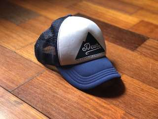 Deus Ex Machina Hat Peak Trucker Navy