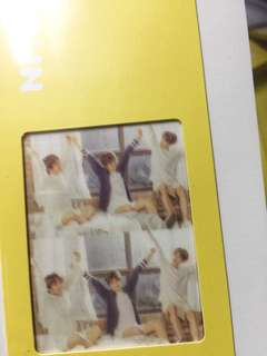 BTS exhibition bookmark