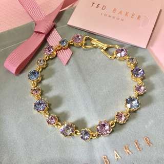 (NEW) TED BAKER Swarovski Crystal Crown Bracelet