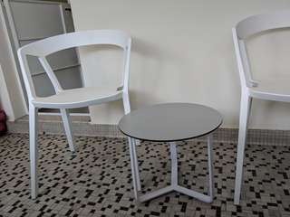 Designer Outdoor Table & Chair Set