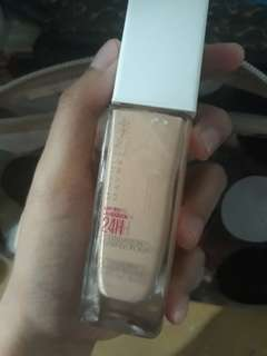 Maybelline 24 hours foundation