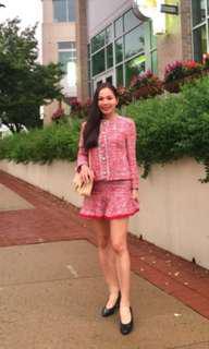 Inc pos authentic Zara tweeted skirt