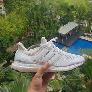 Adidas Ultra Boost Triple White V1