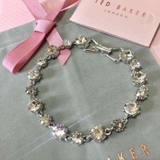(NEW) TED BAKER Swarovski Crystal Crown Bracelet