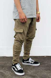 French Terry Cargo Pants
