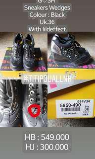 Gosh sneakers wedges