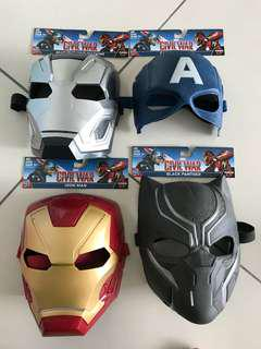 Marvel captain america civil war Mask