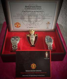 """Manchester United Champion League 1999 winners, Premier League Champion Winners and FA cup Winners - 3 in one Year 1999"""