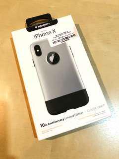 iPhone X Spigen Classic One Case Limited