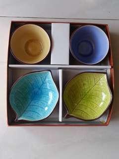 Leaf Design Tea Set