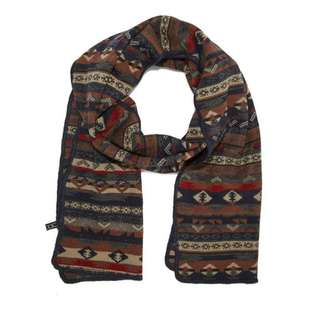 BN F21 Forever 21 Mixed Fair Isle Pattern Scarf