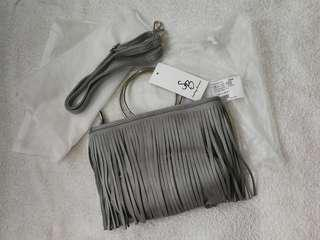 Something Borrowed 2 Way Fringes Bag