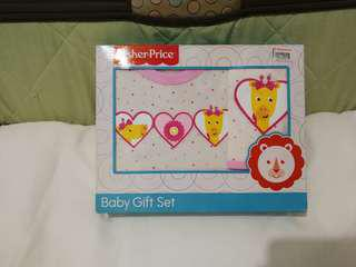 Fisher Price Onesies and Bib Terno Set Brandnew