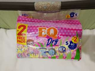 EQ Dry Diapers Small