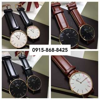 Daniel Wellington st.Mawes classic leather strap not nike adidas fossil