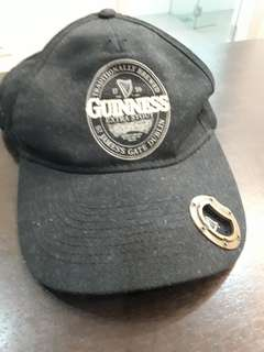 Guinness cap with bottle opener