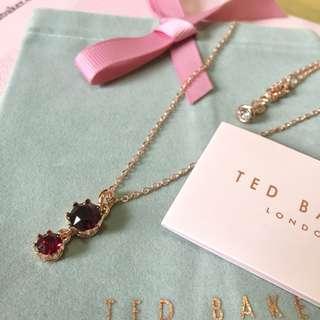 (NEW) Ted Baker Swarovski Crystal Crown Necklace