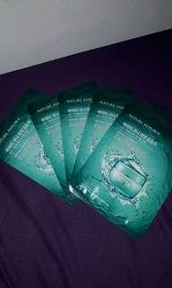 Sheet mask Aqua Nature Republic
