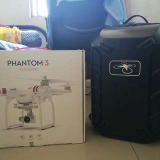 Dji phantom 3s +backpack