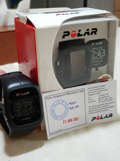 Polar A300 Watch. With extra wrist strap and in optimal condition