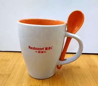 Redoxon 維多C 匙杯套裝 mug & spoon set