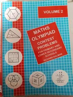 Maths Olympiad books